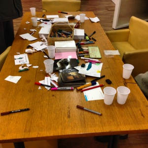creative chaos after opening night!